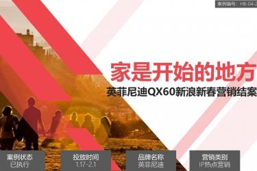 英菲尼迪QX60新浪新春营销
