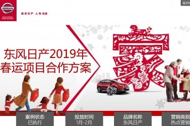 东风日产品牌春运项目热点营销